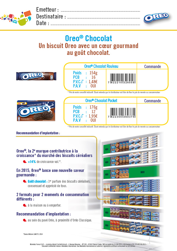 Infographiste Freelance - communication commerciale, plan de vente biscuit