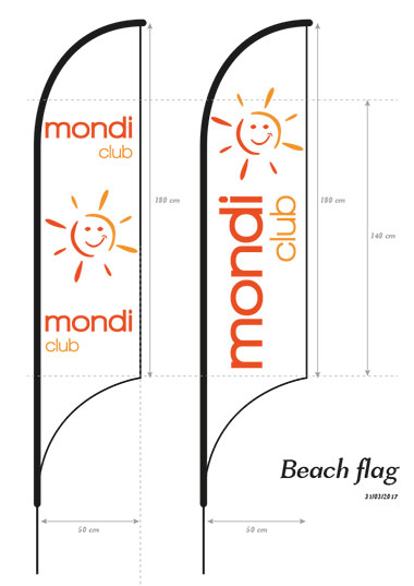 Infographiste Freelance en conception de charte graphique et beach flag