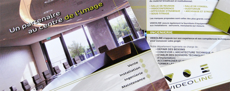 Infographiste Freelance - Maquette de document brochure
